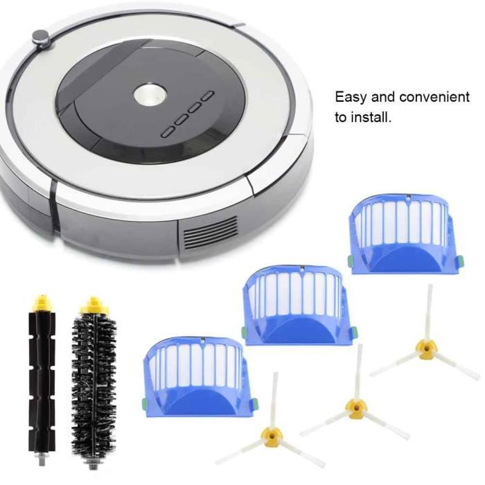 Kit De Brosse à Filtre à Air Haute Efficacité Pour Aspirateur Série Roomba Irobot 500 600 700 800 900-XIG