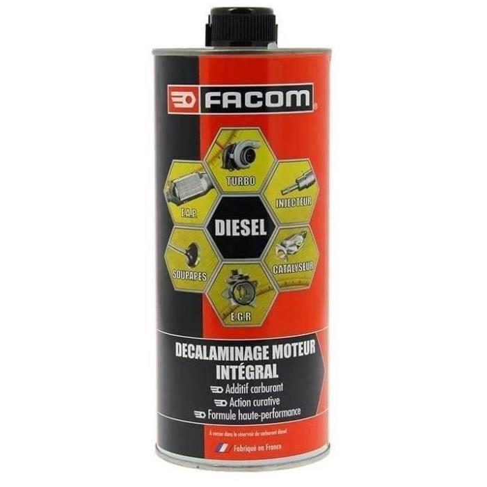FACOM  Décrassant Intégral Diesel, Facilite le contrôle technique - 1L - 6 en 1