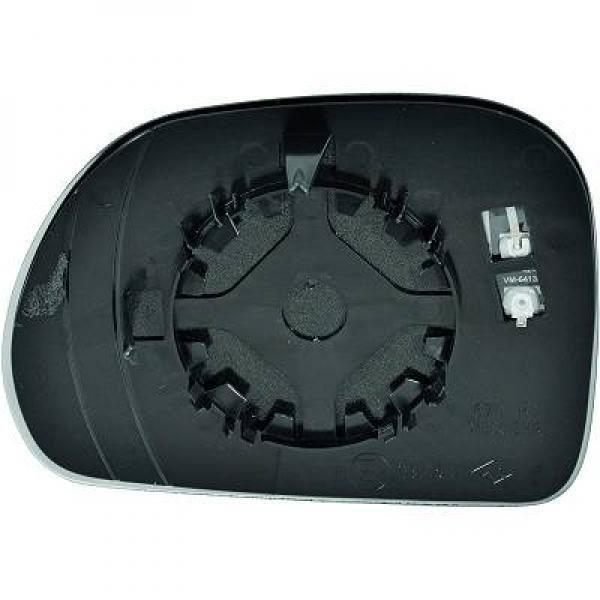 Miroir de rétroviseur coté gauche (dégivrant) FIAT 500 de 2013 à >>
