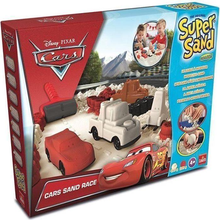 Goliath - Super Sand Disney Cars - Loisir créatif - Sable à modeler