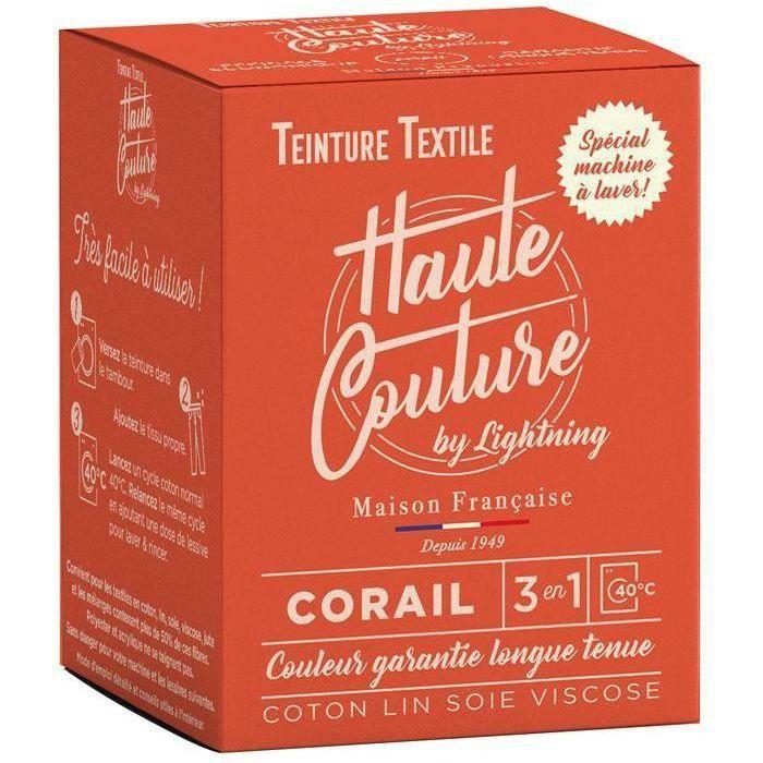 Teinture textile haute couture corail 350g