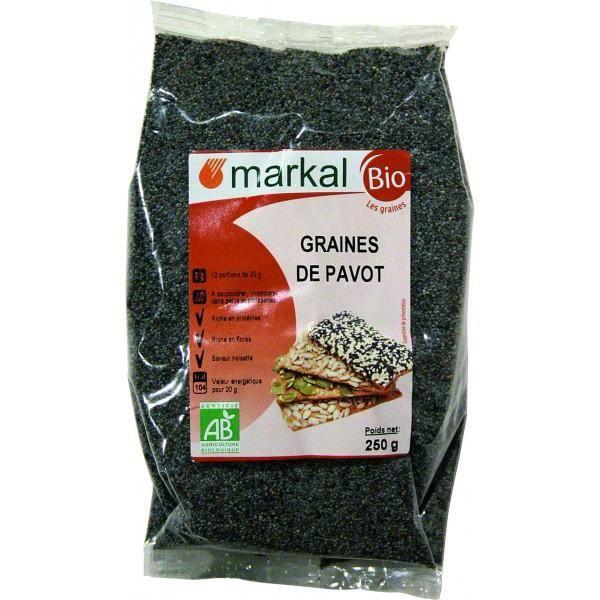 Graines de pavot, 250g, Markal