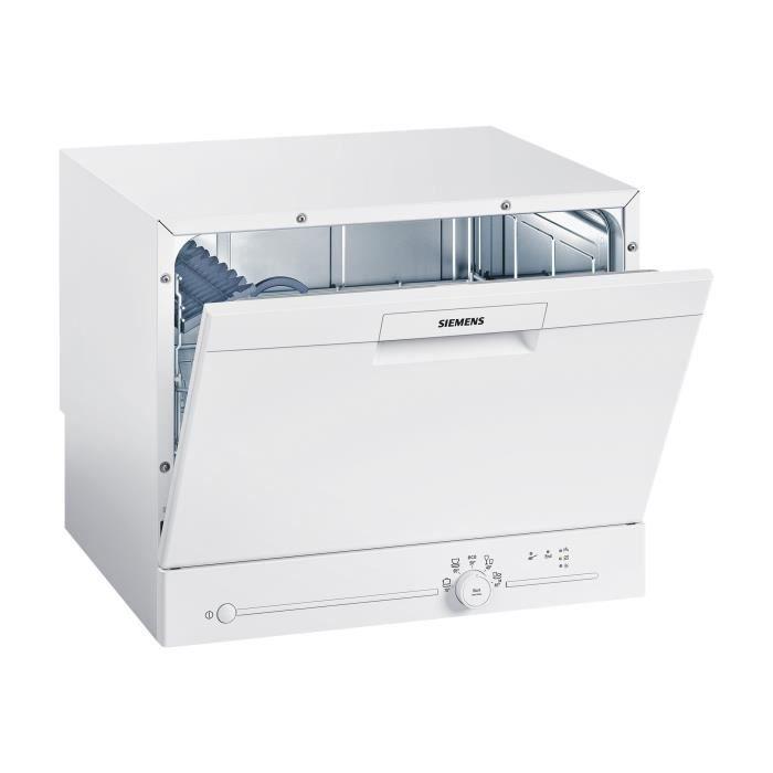 Siemens iQ100 SK25E203EU Lave-vaisselle pose libre largeur : 55.1 cm hauteur : 45 cm blanc