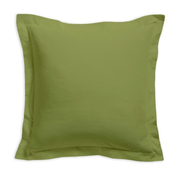 TODAY Taie d'oreiller 100% coton - 75x75 cm - Bambou