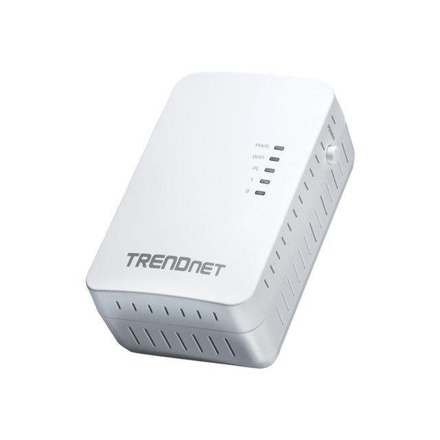 TRENDnet TPL-410AP - CPL 500 Mbps + Wi-Fi N 300…