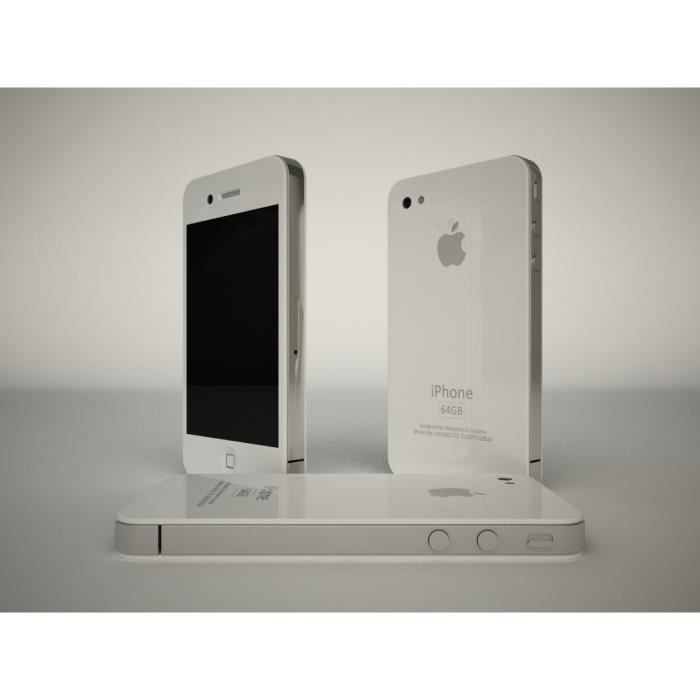 iphone 4s blanc 64go prix casse achat smartphone pas. Black Bedroom Furniture Sets. Home Design Ideas