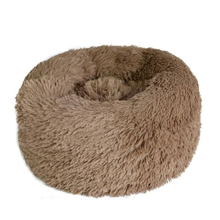 Round En Peluche Chien Kennel Chat Chenil Pour Animaux Matelas Pet Supplies @balenced9614