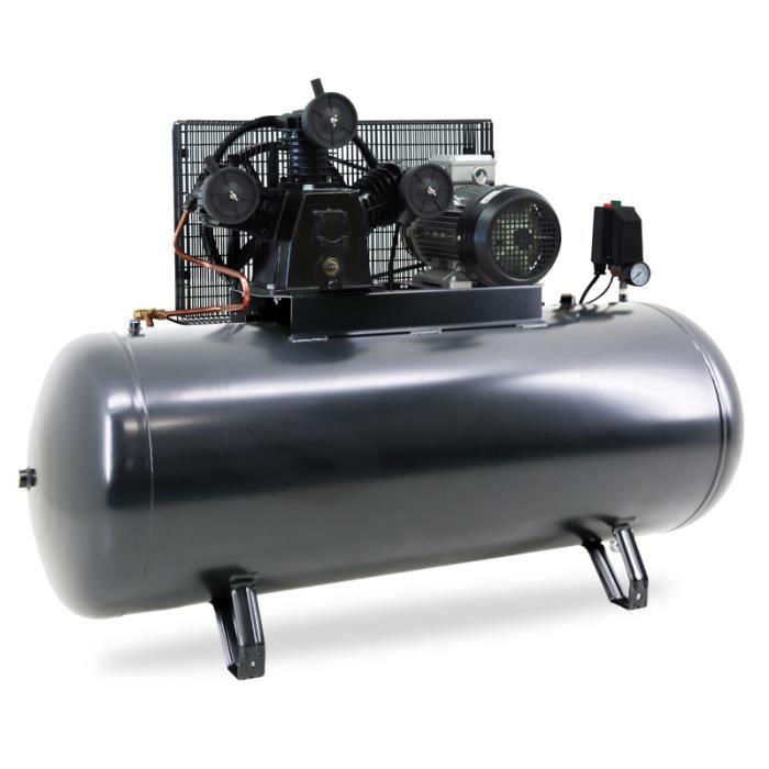 COMPRESSEUR Compresseur 270 litres 5,5 cv 380V horizontal