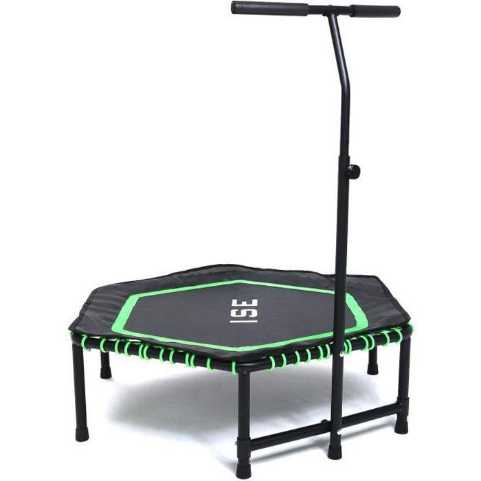 Bleu Relaxdays Trampoline pour Usage int/érieur /& ext/érieur Sport Fitness Entra/înement 100 kg Choix de /Ø Entre 91 ou 96 cm