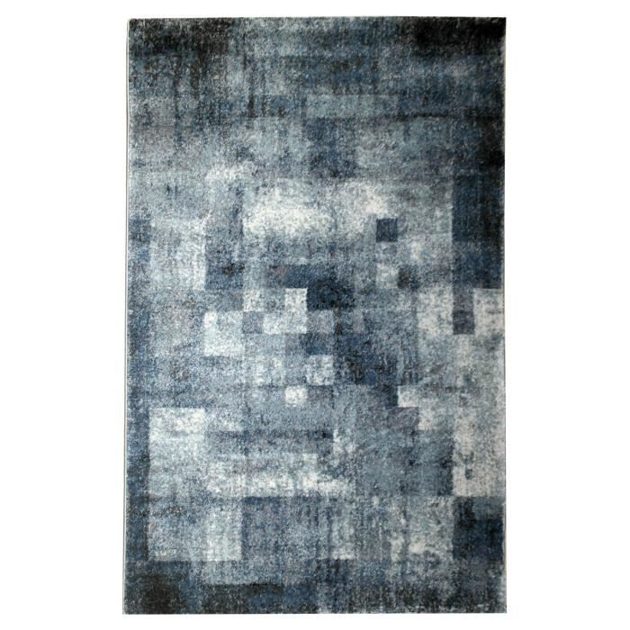tapis gris 160x230 achat vente tapis gris 160x230 pas cher soldes d s le 27 juin cdiscount. Black Bedroom Furniture Sets. Home Design Ideas