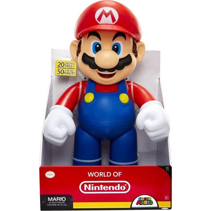 Mario Figurine Mario 50 Cm Avec 11 Points D Articulations