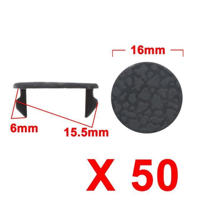 U trou vis fixation 5mm m/étal Pare-chocs voiture sourcing map 20Pcs Rivet Clips retenue