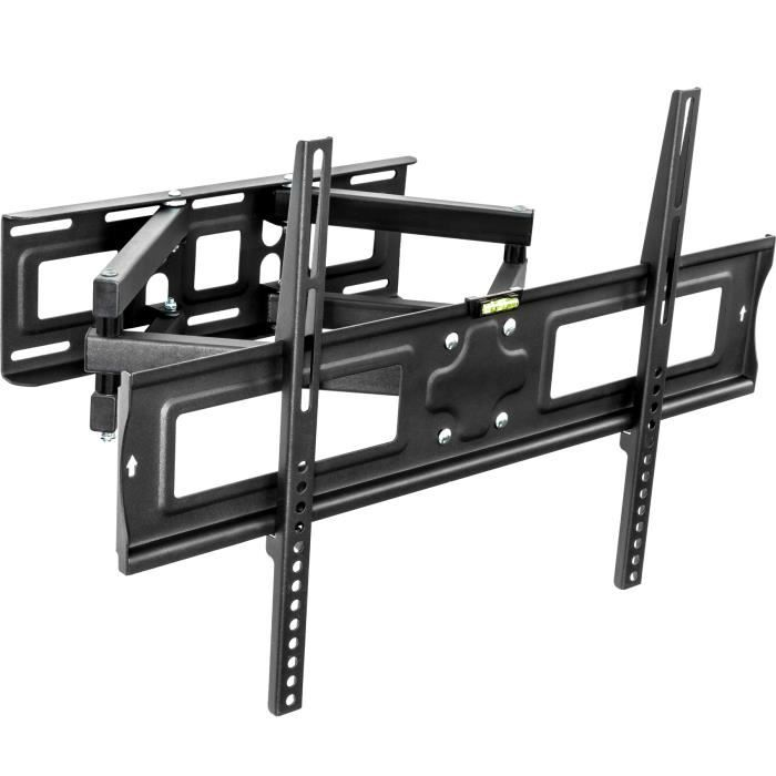 Support tv mural orientable et inclinable 32 65 fixation support tv avis et prix pas cher - Support tv mural orientable ...