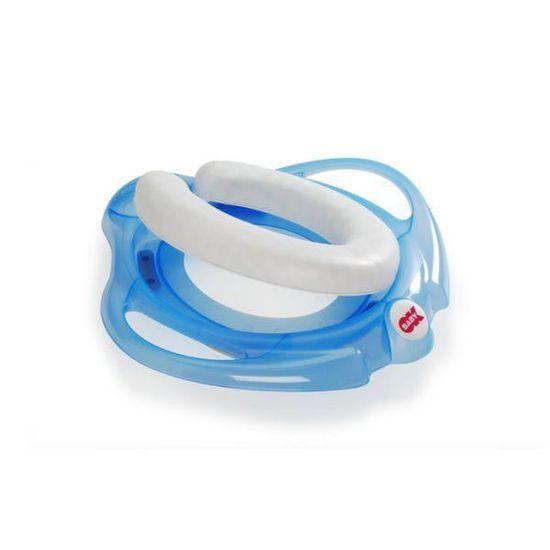OKBABY Pinguo Soft avec 2 Poign/ées Fuchsia R/éducteur de Toilette Moelleux pour Enfants