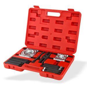 HOT 12PCS Coffret extracteur de roulements Barre de coupe multifonctionnel