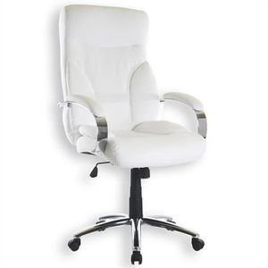 fauteuil de bureau blanc achat vente fauteuil de. Black Bedroom Furniture Sets. Home Design Ideas
