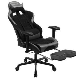 SIÈGE GAMING Chaise gamer Siège gaming hauteur de 127,5-137,5 c