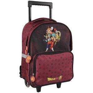 CARTABLE Sac à dos à roulettes Dragon Ball Super 31x17x47 c