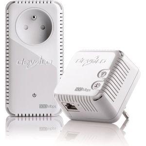 COURANT PORTEUR - CPL DEVOLO dLAN 500 WiFi Starter Kit+ CPL