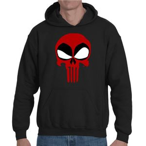Sweat à capuche Deadpool Punisher
