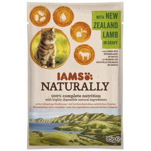 BOITES - PATÉES IAMS Naturally Humide Agneau Nouvelle-Zélande en s