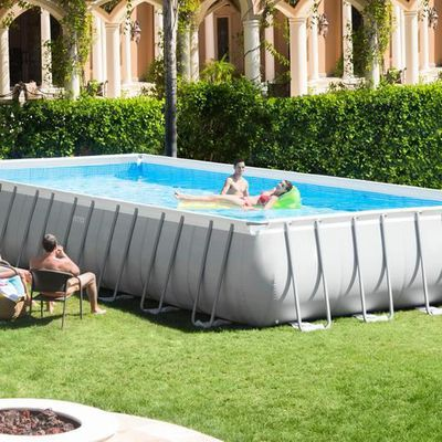 Attrayant 26372 INTEX PISCINE ULTRA FRAME RECTANGULAIRE 975X488X132