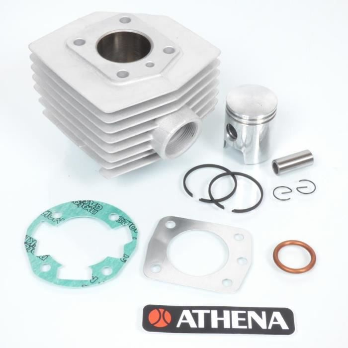 Kit cylindre piston Athena mobylette MBK 51 Magnum Racing XR AV10 air 009400 mob