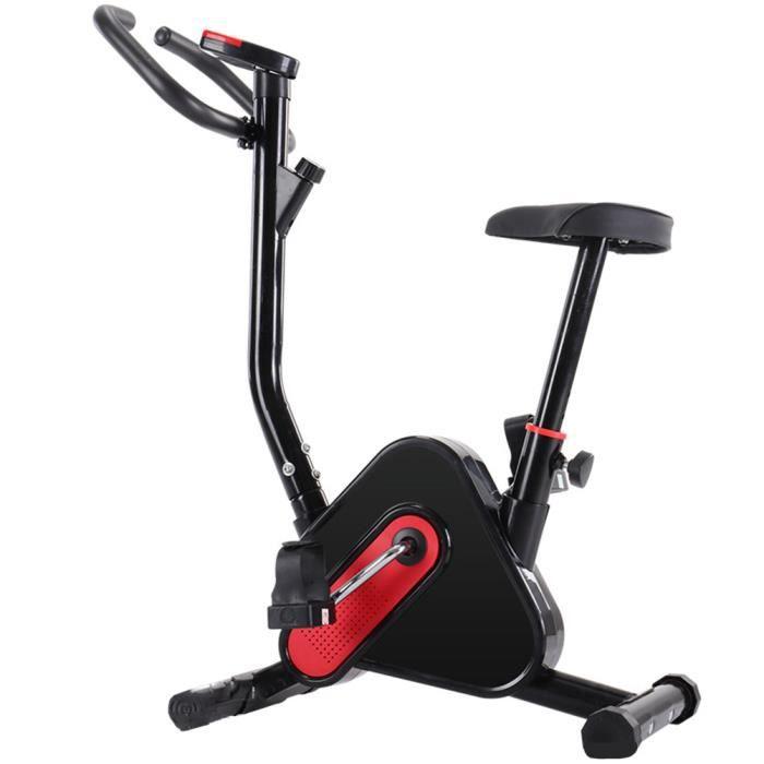 Vélo de spinning - Affichage LED électronique - Résistance à la conduite réglable