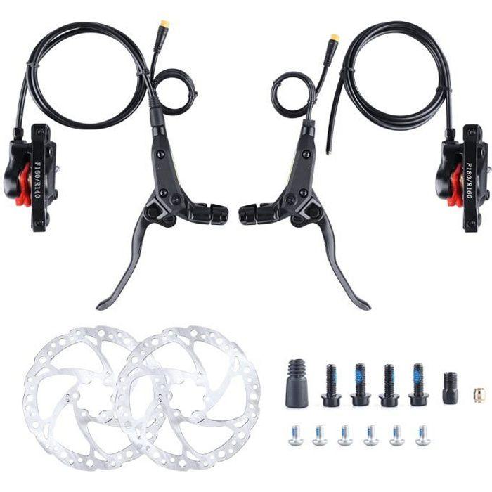 Kit de freinage Freins à disque hydraulique pour le moteur BAFANG BBSHD/01/02 du vélo à assistance électrique