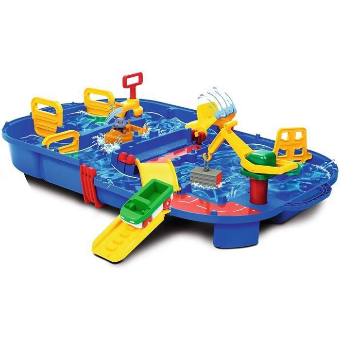 Bacs à sable et jeux de plage Simba- Circuit d'eau, 8700001516, Bleu 162207