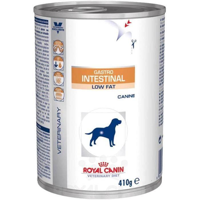 Nourriture pour chiens Royal Canin Gastro Intestinal Low Fat Nourriture pour Chien 410 g 36061