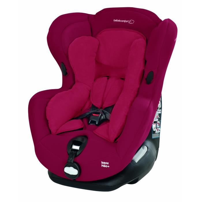 Bébé Confort Iseos Néo Siège Auto - Groupe 0+-1 - Rouge (Raspberry Red) - Collection 2014