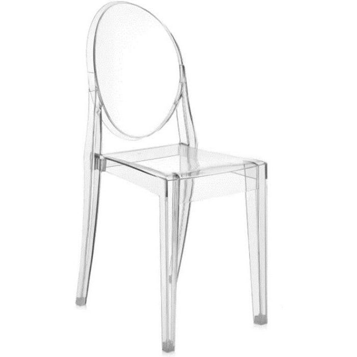 Chaise Kartell Victoria Ghost - Transparent