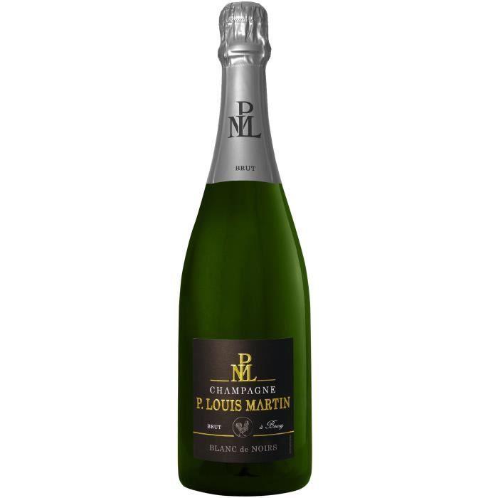 Champagne Paul Louis Martin Blanc de noirs Brut - 75 cl