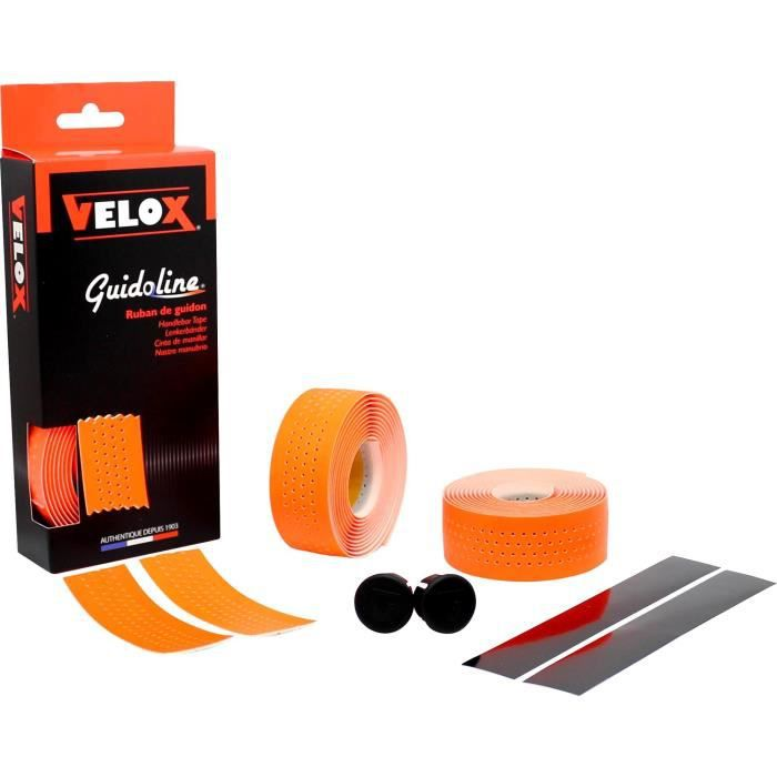 Guidoline Velox Fluo Vert perforée - Orange (Orange fluo) - Taille unique