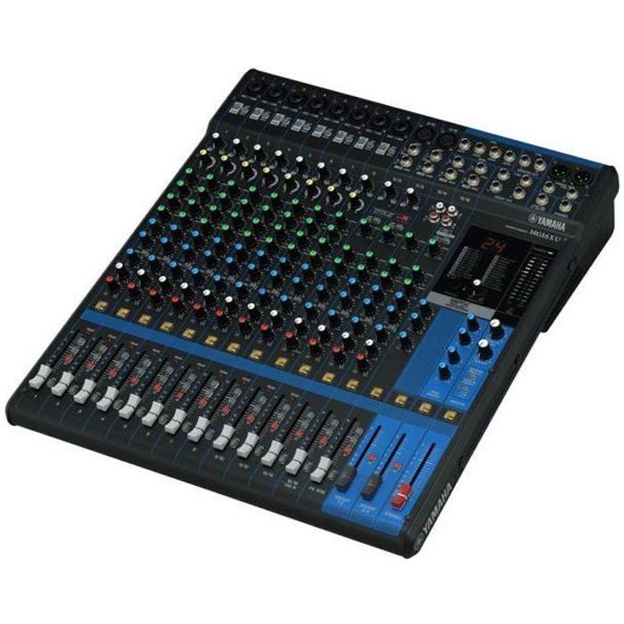Yamaha MG16XU - Table de mixage analogique avec effets 16 canaux