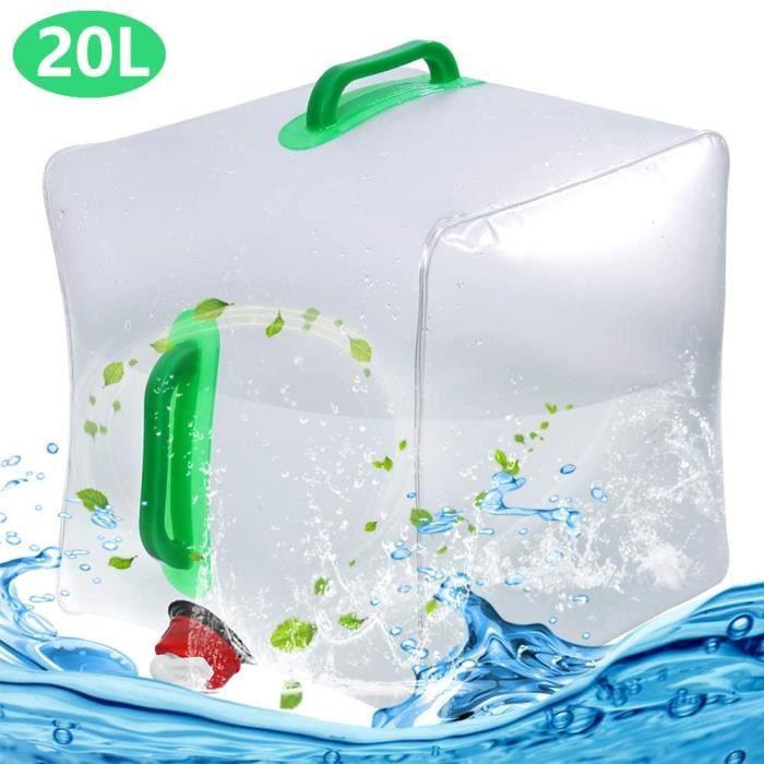 Bidon de l/'eau contenant 10L avec du robinet Camping pique-Nique Stockage Peut