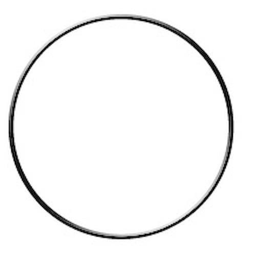 Armature abat-jour cercle avec bague Ø 10 cm Graine créative