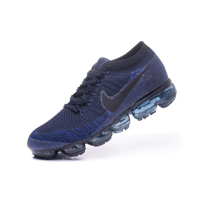 chaussure nike bleu et noir