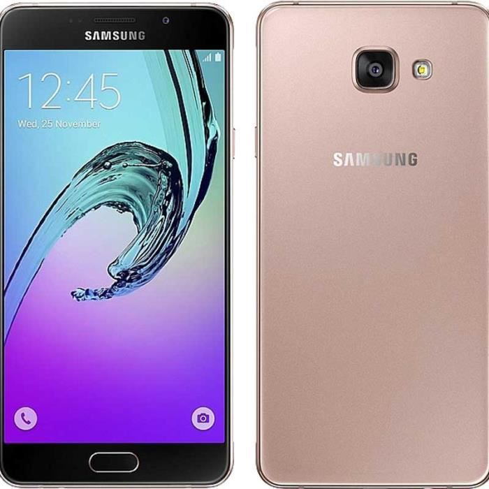 samsung galaxy a5 2016 rose gold achat vente samsung galaxy a5 2016 rose gold pas cher. Black Bedroom Furniture Sets. Home Design Ideas