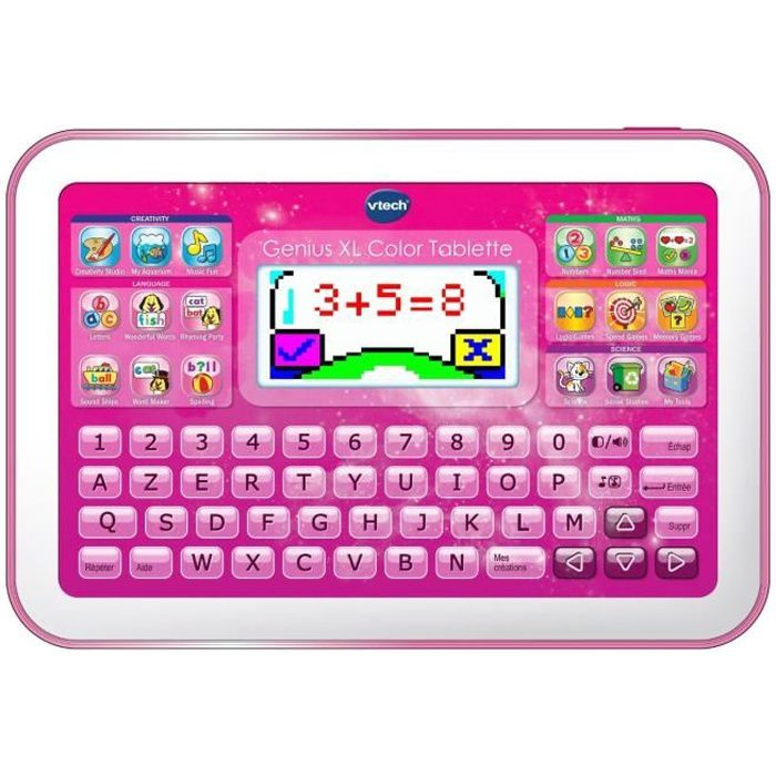 Vtech Genius Xl Color Tablette éducative Enfant Rose