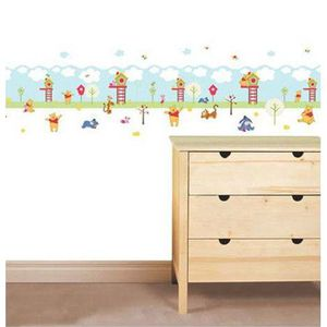 frise murale winnie achat vente frise murale winnie pas cher cdiscount. Black Bedroom Furniture Sets. Home Design Ideas
