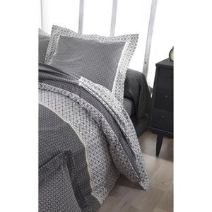 housse de couette 240x260 satin achat vente pas cher. Black Bedroom Furniture Sets. Home Design Ideas