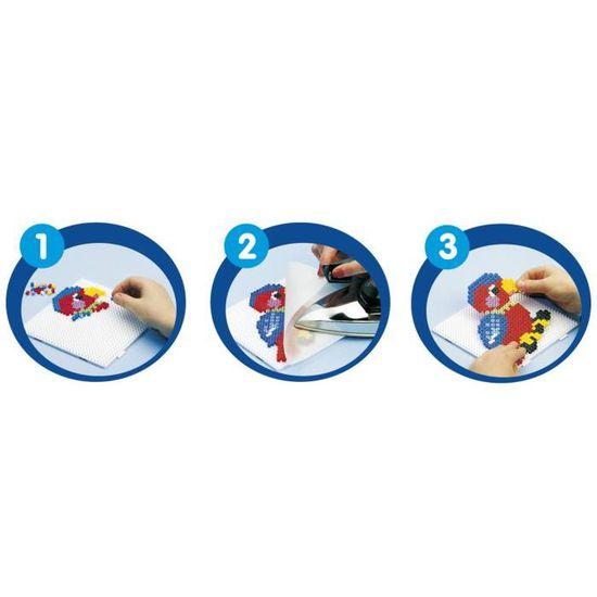 Hama Blister 4 Plaques pour Perles à Repasser Midi 4553 Loisirs Créatifs