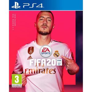 JEU PS4 Fifa 20 PS4 + 1 Pack Joueurs FUT OR OFFERT
