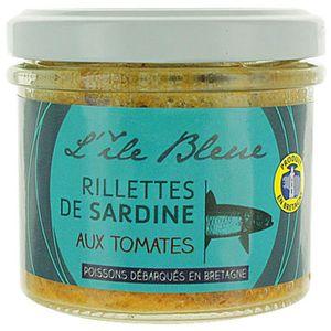 PRODUIT DE SARDINE Rillettes de sardine MSC à la tomates - L'ile Bleu