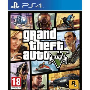 JEU PS4 Jeu PS4 TAKE 2 GTA 5