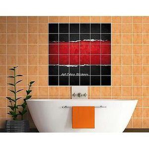 faience Sticker carrelage mural déco cuisine ou salle de bain Bateau réf 836