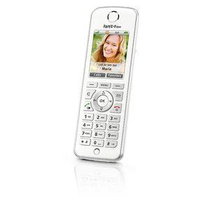 Téléphone fixe AVM FRITZ!Fon C4 International, Téléphone DECT, Ha