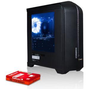 UNITÉ CENTRALE  Fierce Enforcer PC Gamer de Bureau - AMD Ryzen 5 2